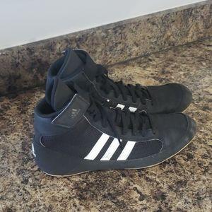 Size 7 adidas wrestling shoes